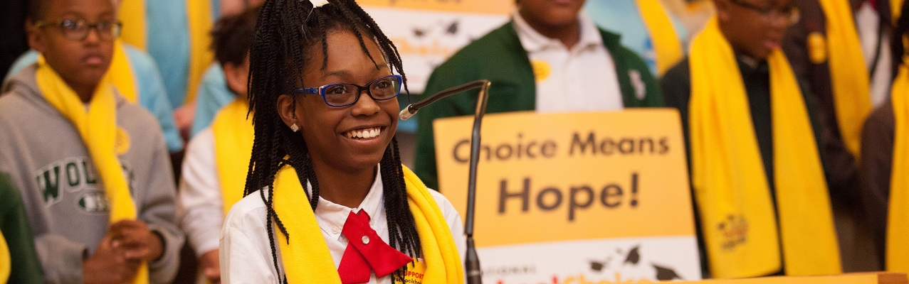 Students, Families Rally For School Choice